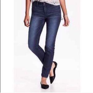 Old navy rockstar mid rise tall skinny jeans sz 18